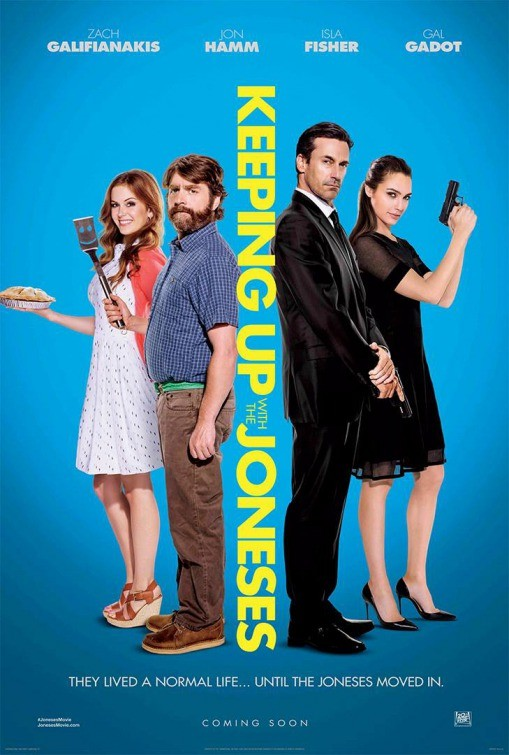 Watch Keeping Up With The Joneses Film Bluray 2016 Online