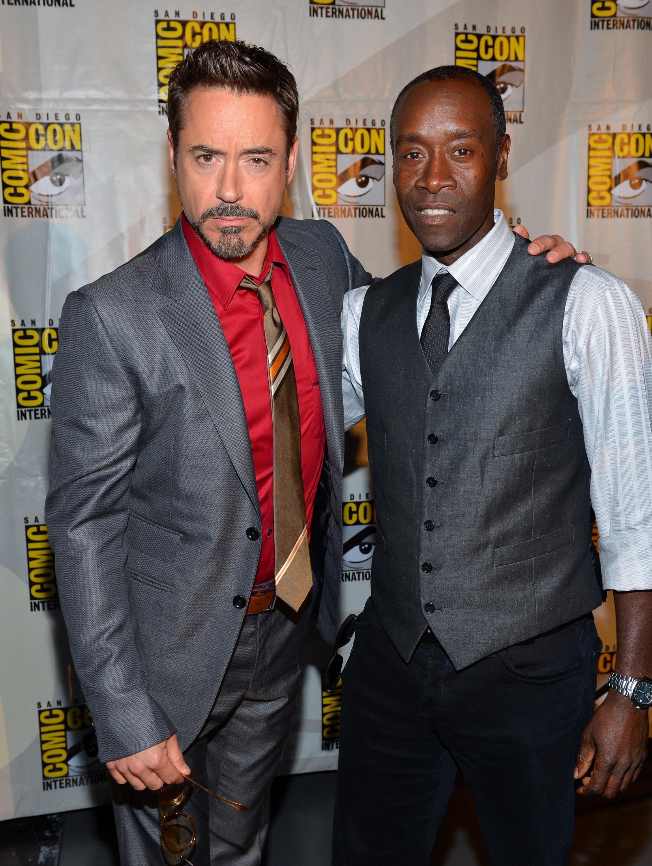 Don Cheadle Iron Man Suit