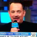 Watch Tom Hanks Accidentally Drop F-Bomb On GOOD MORNING AMERICA