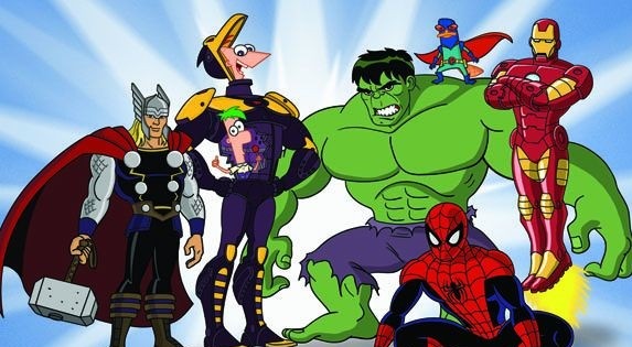 Phineas And Ferb Mission Marvel