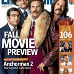 EW's Mag Cover – ANCHORMAN 2: THE LEGEND CONTINUES