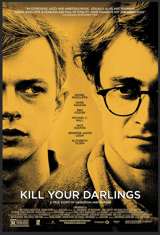 Kill Your Darlings poster Kill Your Darlings Clip and Photos Featuring Daniel Radcliffe and Dane DeHaan