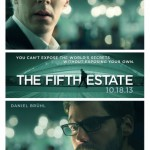 THE FIFTH ESTATE Poster With Benedict Cumberbatch As Julian Assange, The WikiLeaks Founder