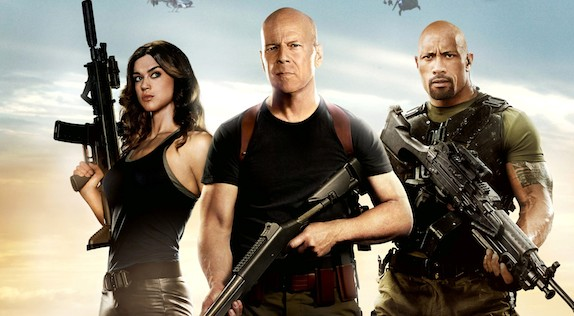 G.I. Joe - Retaliation - Adrianne Palicki, Bruce Willis, Dwayne Johnson