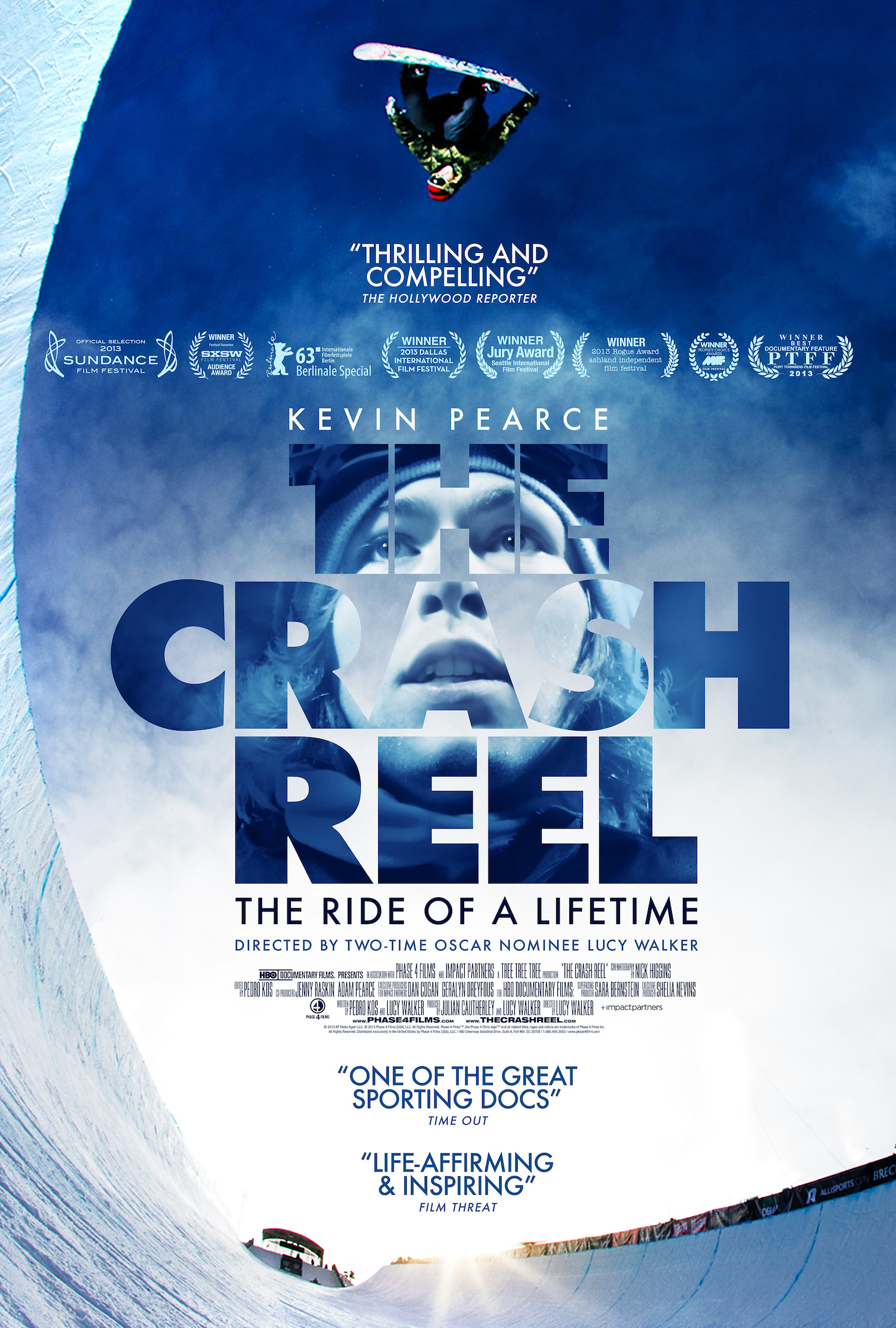 THE CRASH REEL, In Theaters December 13 – New Clip And New Poster