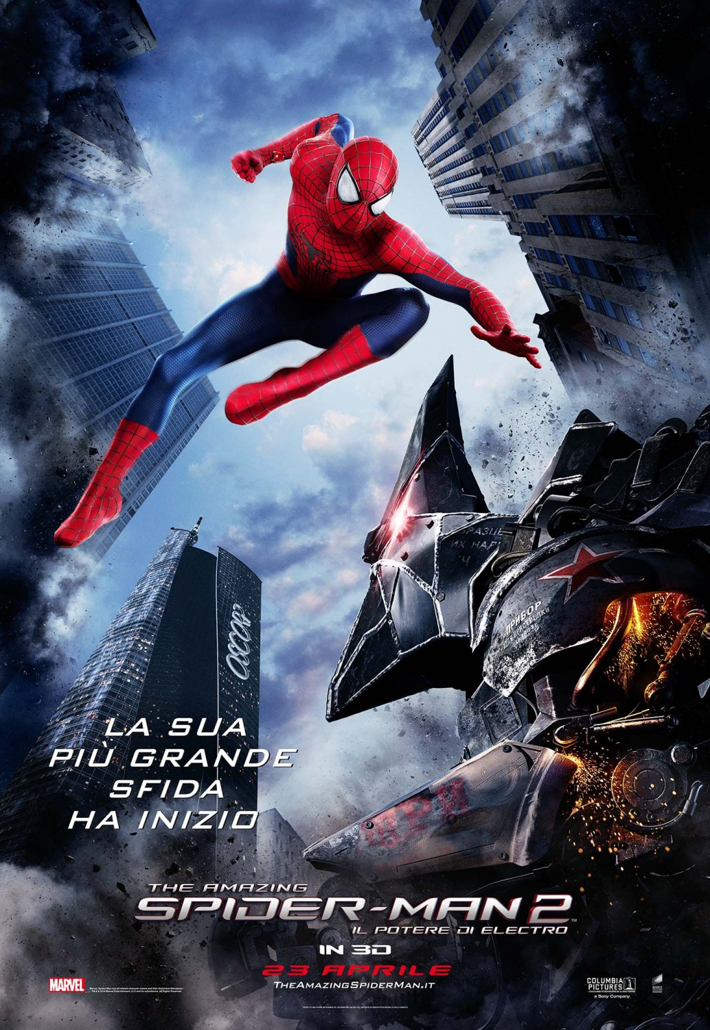 spiderman two new int l posters for the amazing spider man 2