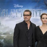 """@Maleficent – Look At These Photos Of #AngelinaJolie And #BradPitt From MALEFICENT """"World of Maleficent"""" In London – #Maleficent"""
