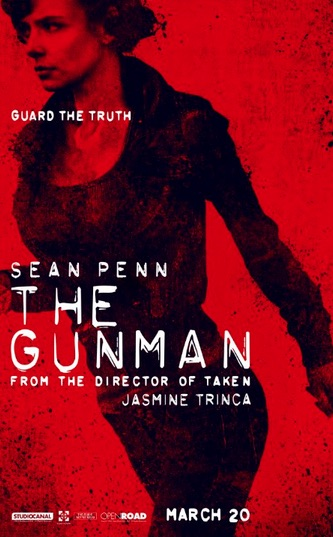 New And Very Red Posters For THE GUNMAN | Rama's Screen