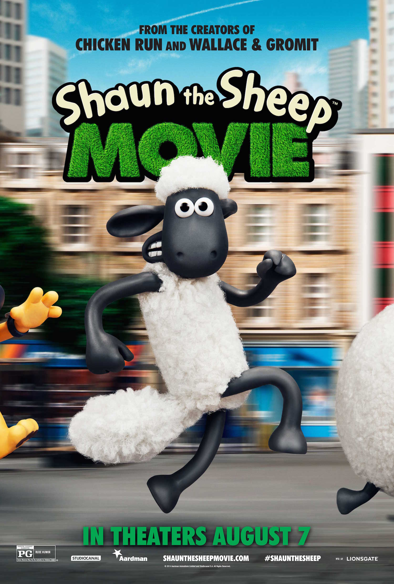 SHAUN THE SHEEP MOVIE Opens Nationwide AUGUST 7 2015