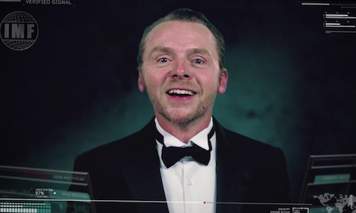 Simon Pegg - Mission Impossible - Rogue Nation - IMF Recruitment video