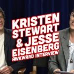 Watch #KristenStewart And #JesseEisenberg In This Awkward Interview