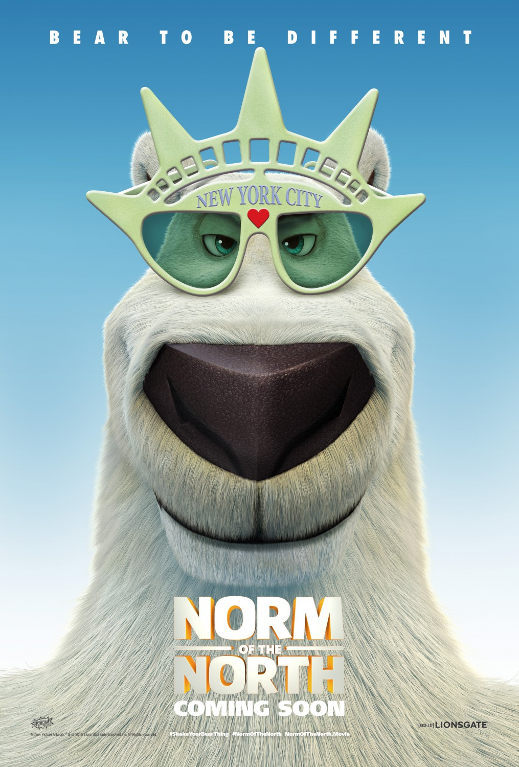 Youve Watched The Trailer And Now Via Fandango Heres Poster For Upcoming New Animated Movie NORM OF THE NORTH Click On This Image To Enlarge