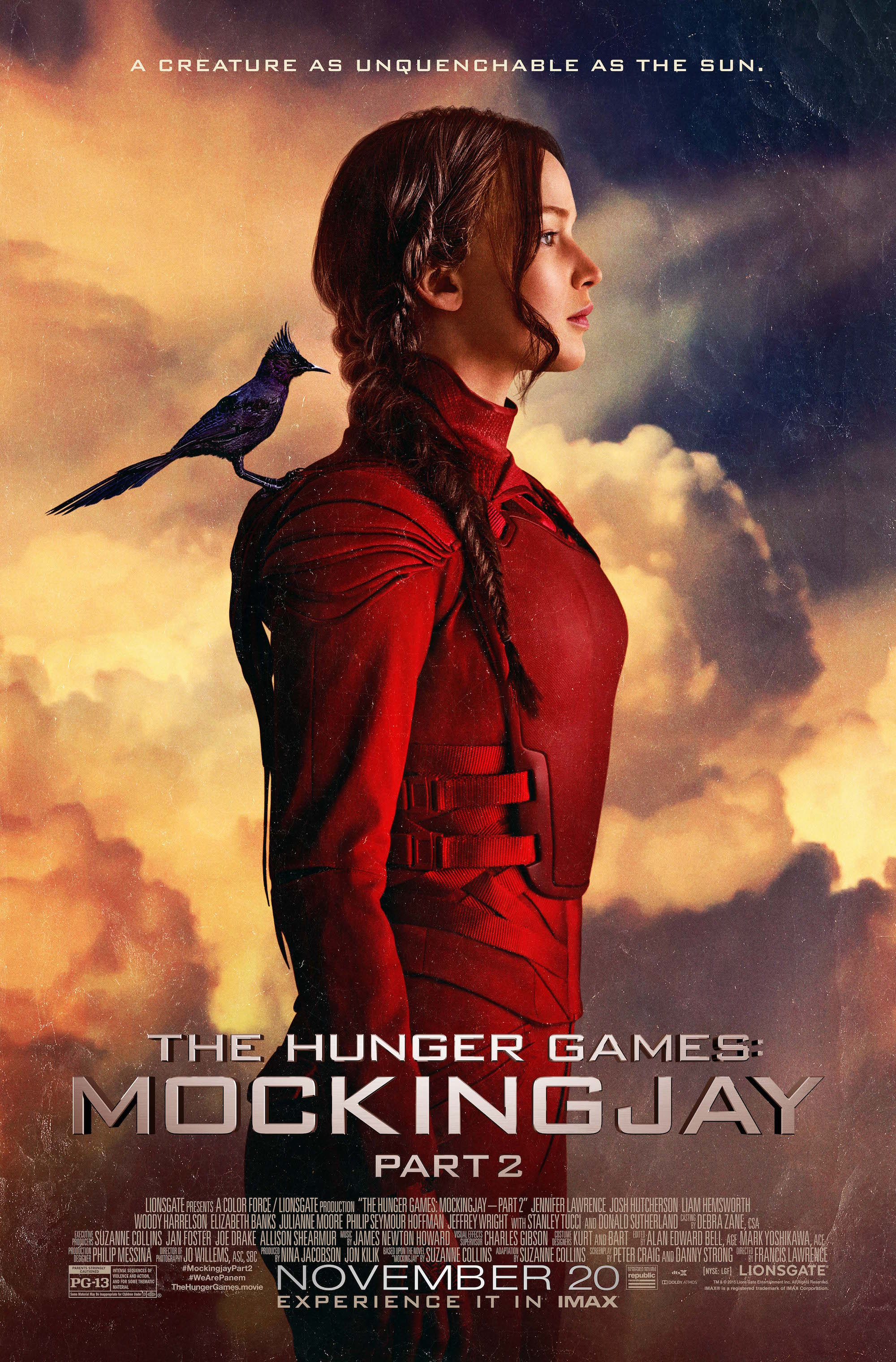 The Hunger Games: Mockingjay - Part 2 - Movie info and