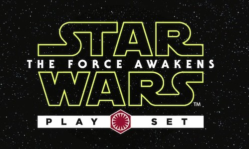 Star Wars - The Force Awakens - Play Set
