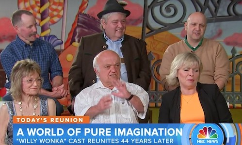 """Watch This """"Willy Wonka And The Chocolate Factory"""" Cast Reunion ..."""