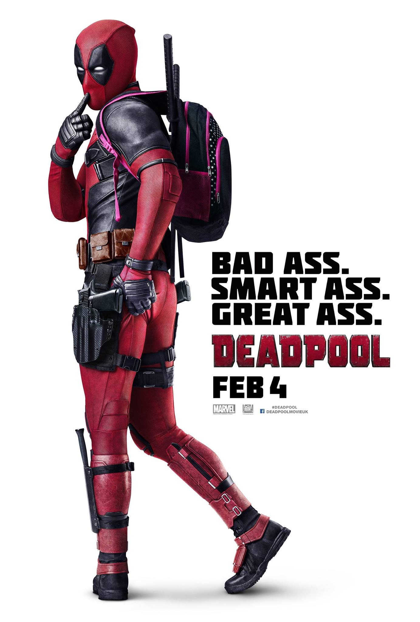 Do you think this new deadpool poster has a great ass ramas screen here see it for yourself in this new international poster and leave your answer in the comment section below deadpool solutioingenieria Images