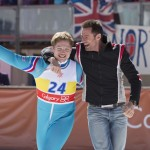 Look At Hugh Jackman And Taron Egerton In These Sundance EDDIE THE EAGLE Photos! Plus New Clip!