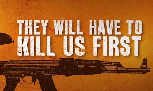 They Will Have To Kill Us First logo