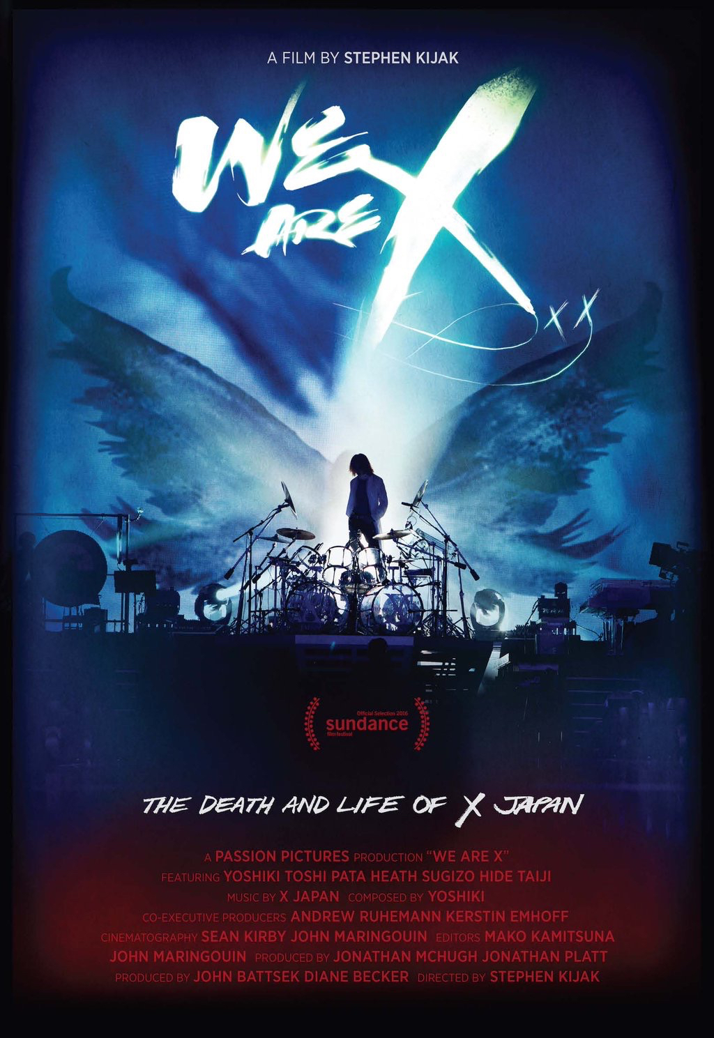 The New Music Documentary On Japanese Rock Group X JAPAN Titled WE ARE From Passion Pictures Has Been Accepted To SXSW Film Festival Happening