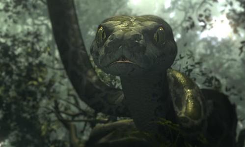 Jungle Book VR Experience - Kaa