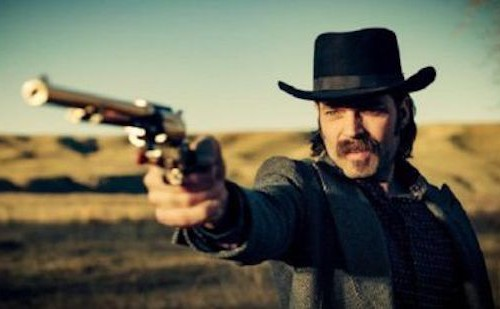 Tim Rozon as Doc Holliday in Wynonna Earp series