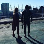 First Photo Of Supergirl – Arrow Crossover