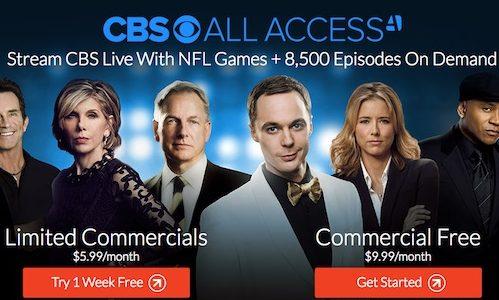 all access cbs promo code
