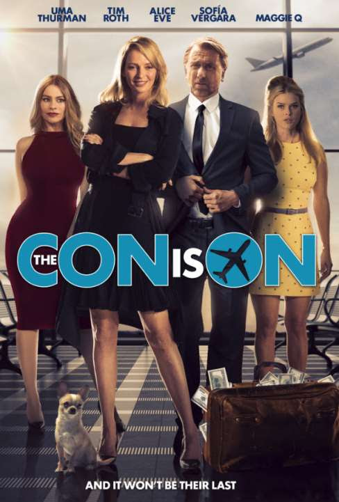 THE CON IS ON Poster And Trailer With Uma Thurman, Tim Roth And