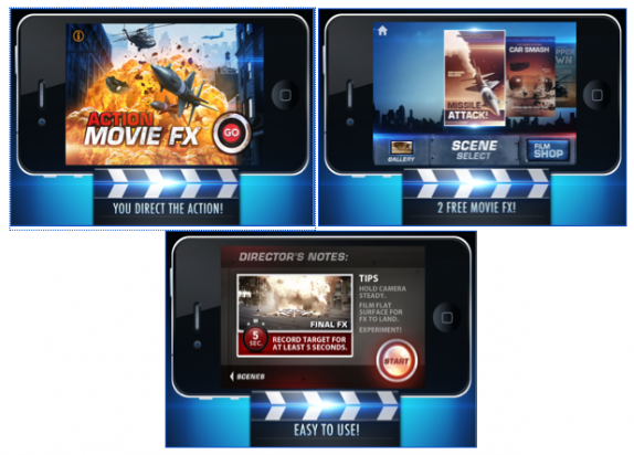 Get The Awesome App ACTION MOVIE FX On Your Phone Today! | Rama's Screen