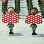 ARTHUR CHRISTMAS 2nd Teaser Trailer: Wrapped Polar Bear!!