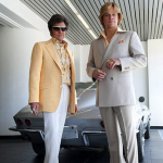 First Photo – BEHIND THE CANDELABRA, Michael Douglas As Liberace And Matt Damon As His Love