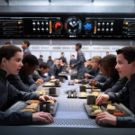ENDER'S GAME New Image – Salamander Army Havin' Lunch