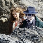 Whoa! Look At Pasty White Johnny Depp In These DARK SHADOWS Set Photos