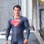Take A Closer Look At These MAN OF STEEL Set Photos Of Henry Cavill In Cape-less SUPERMAN Costume
