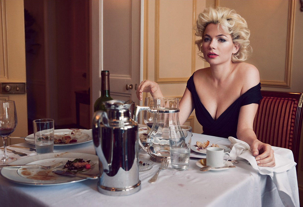 Look At These Vogue Photos Of Michelle Williams As MARILYN MONROE ... 2b32c207d