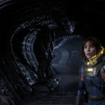 Another New Image Of Noomi Rapace In Ridley Scott's PROMETHEUS.. With Space Jockeys?