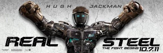 Real Steel robot Atom poster memorabilia