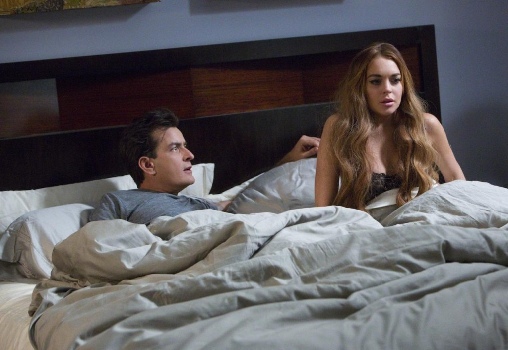 Scary Movie 5 - Charlie Sheen - Lindsay Lohan