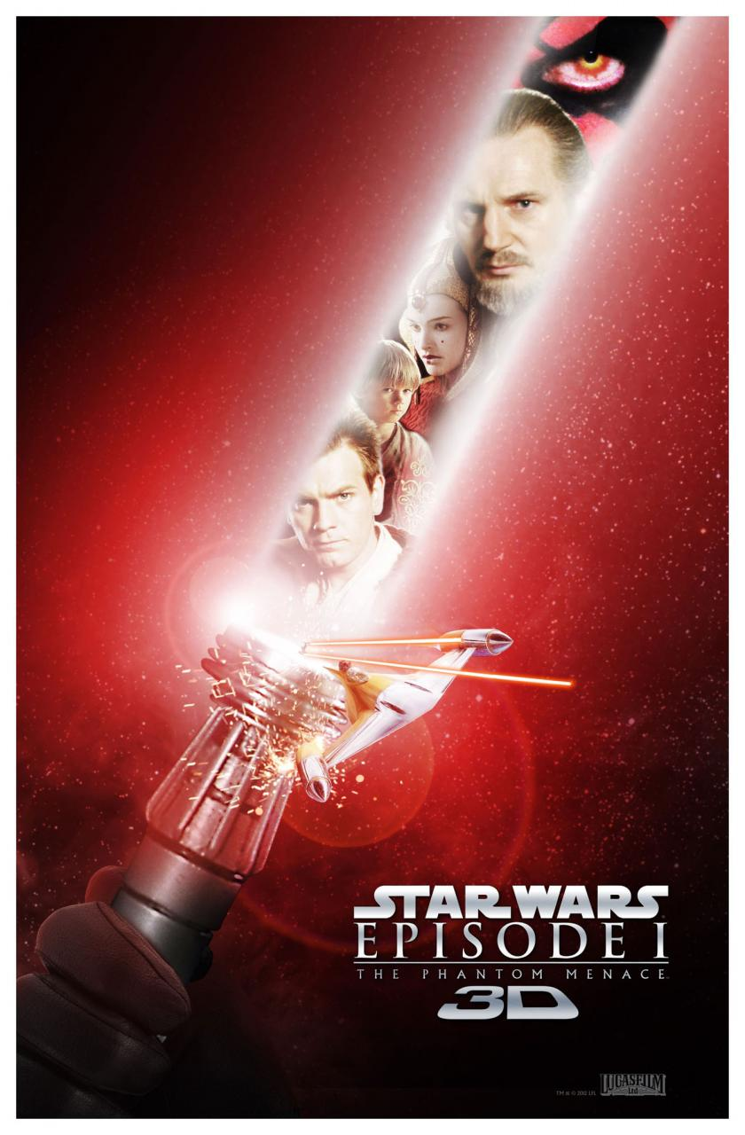 Look at these new posters for star wars: episode 1 – the phantom