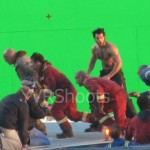 Hello Ladies! Here's Some More Shots Of Half-Naked Buff Henry Cavill a.k.a The New SUPERMAN On The Set Of MAN OF STEEL