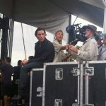 Watch Christian Bale And Director Terrence Malick At Austin City Limits, Shooting Their Super Secret Project
