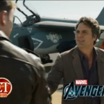 This ET's Sneak Peek Set Video Of THE AVENGERS That Teases The New Trailer