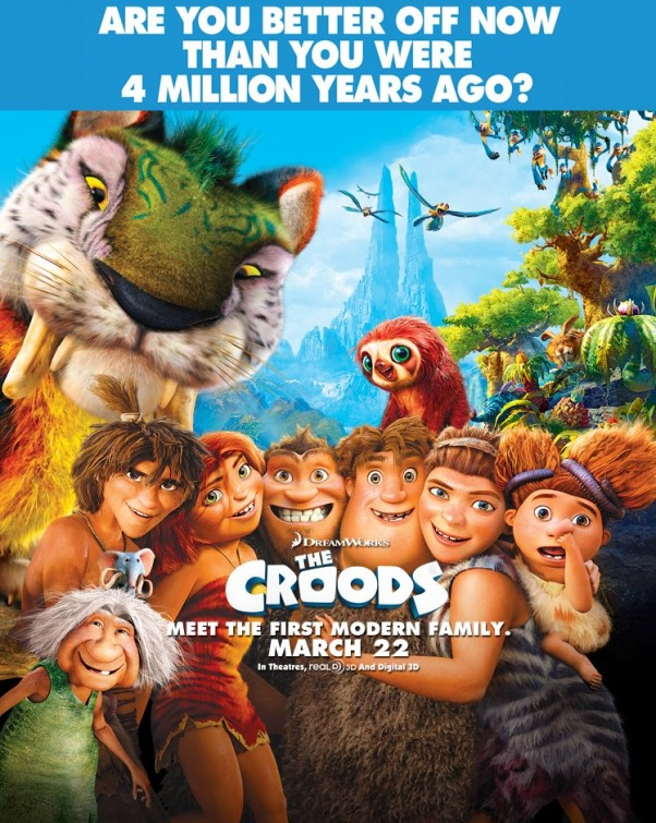 e1fe42b8a6bd The Croods is a prehistoric comedy adventure that follows the world s first  family as they embark on a journey of a lifetime when the cave that has  always ...