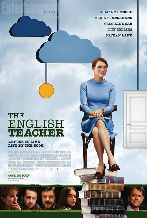 THE ENGLISH TEACHER Theatrical Poster With Julianne Moore   Rama's ...