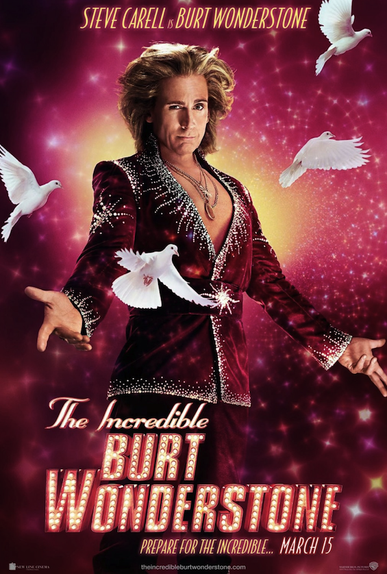 The Incredible Burt Wonderstone - Steve Carell