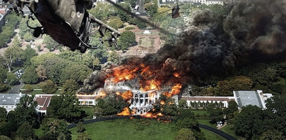 White House Burned Down In This New Int L Posters Rama S Screen
