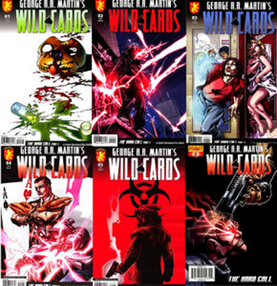 Syfy films will adapt george r r martin's wild cards