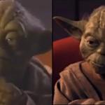 CGI Yoda Vs. Original YODA In PHANTOM MENACE