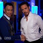 Look At IRON MAN And Wang Xueqi In These IRON MAN 3 Photos