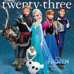Disney 23's Fall Issue Breaks The Ice With Disney's Coolest Animated Film Ever, FROZEN!